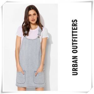 NWT Urban Outfitters Denim Overall Skirt
